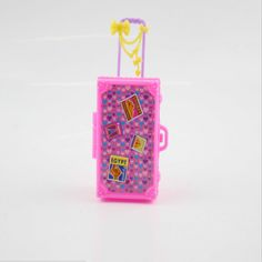 https://www.i-sabuy.com/ เด็กของเล่นพลาสติก3dน่ารักเดินทางกระเป๋าเดินทางกระเป๋ากรณีt runkสำหรับbarbieบ้านตุ๊กตาของขวัญtoysเฟอร์นิเจอร์บ้านตุ๊กตา