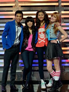 "Carly Rae Jepson rocks the Shake it up stage in the Shake it up episode ""My Fair Librarian It up!"""