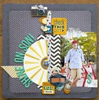 A Project by Leslie Ashe from our Scrapbooking Gallery originally submitted 09/21/12 at 11:23 AM