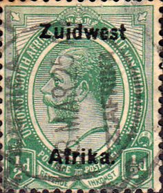 South West Africa 1923 King George V Afrikaans SG 16 Fine Mint SG 16 Scott 16b Other British Commonwealth stamps for sale here