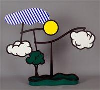 Landscape Mobile (Limoges) by Roy Lichtenstein