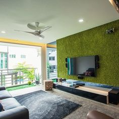 Houzz is the new way to design your home. Browse 13 million interior design photos, home decor, decorating ideas and home professionals online. Living Room Plants, Outdoor Living Rooms, Living Room Green, Rugs In Living Room, Interior Design Living Room, Living Room Decor, Living Area, Topiary Decor, Decoration