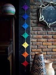 23 Clever DIY Christmas Decoration Ideas By Crafty Panda Diy Arts And Crafts, Diy Crafts, God's Eye Craft, Gods Eye, Mandala Art, String Art, Yarn Crafts, Art For Kids, Dream Catcher