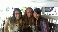 Dia das mães com as filhas que Deus me deu Nicole e Renata