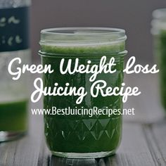 Green Weight Loss Juicing Recipe - Apples, celery, cucumber, ginger, kale, lemon