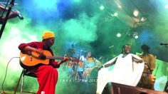 Guitarist Riwin and Afro Mosse in AFRONESIA at Bali Spirit Festival, March 2013. #Bali