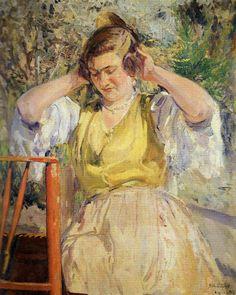 Valencianas Pintadas:  Julio Peris Brell (Valencia, 1866 - 1944)