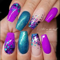 Lilac flower 2018 New. Purple manicure with rhinestones . Lilac flower 2018 New. Purple manicure with rhinestones Purple Nail Designs, Nail Art Designs, Nails Design, Rhinestone Nail Designs, Purple Nails With Design, Unique Nail Designs, Acrylic Nail Designs Glitter, Bright Nail Designs, Salon Design