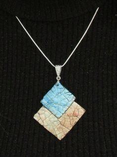Hair Jewelry, Jewelry Art, Beaded Jewelry, Jewlery, Fashion Jewelry, Shell Pendant, Pendant Necklace, Eggshell Mosaic, Egg Shell Art