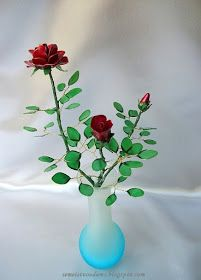 Wire flowers with nail polish   Gallery 3      PDF guide          PDF guide                                                             P....