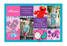 Hey, I found this really awesome Etsy listing at https://www.etsy.com/listing/189041438/abby-cadabby-elmo-diy-birthday-party