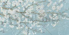 April Breeze I Teal - Wall Mural & Photo Wallpaper - Photowall