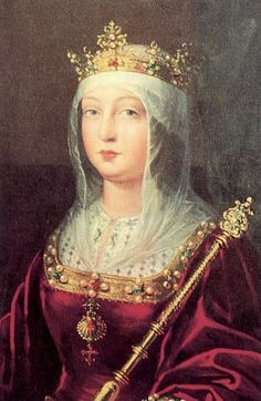 Isabel I - queen of Castile 1474-1504, queen of León 1474-1504 X 1469, Fernando II Trastamara king of Aragon 1479-1516   1452-1516