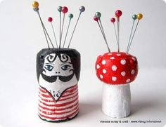 Make these pin cushions. | 37 Insanely Creative Things To Do With Popped Corks