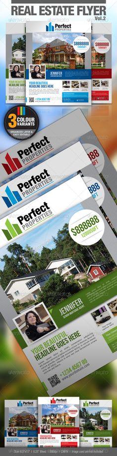 Real Estate Flyer Vol.2 - GraphicRiver Item for Sale