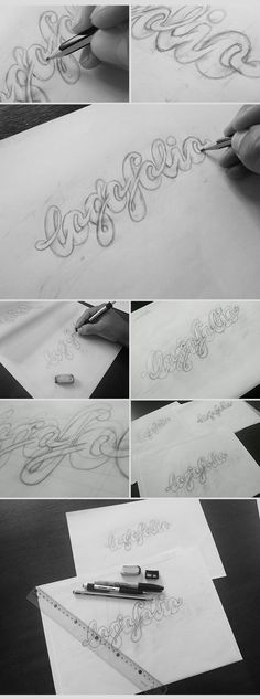 The Way I Work - A Logotype Design Process