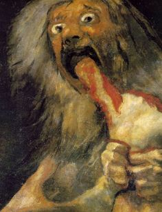 Goya : Saturn devouring his son