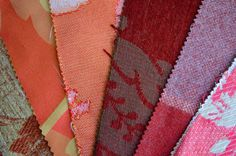 x5 Fabric Swatches, fabric samples, fabric remnants, 15 x 20cm , crafts, sewing