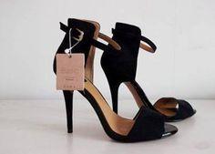 pretty nice 5ee53 8e67c Fascinantes! Sandalias Zara, Sandalias Negras, Zapatillas, Moda Para Mujer,  Botas,