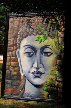 Lord Buddha ~ #santiniketan #unknownartists #handicrafts #art #paintings www.pursuitin.com Coming Soon at the Storefront!! Buddha Wall Painting, Budha Art, Paintings I Love, Art Paintings, Joy Art, Mother Art, Prophetic Art, Renaissance Paintings, Art Corner