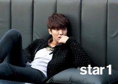 Lee Min-ho's mostly hot @star1 photo shoot » Dramabeans » Deconstructing korean dramas and kpop culture