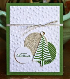 Krystal's Cards and More: Festival of Trees - Stampin' Up! by Buy Lizzie