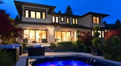 Beautiful Vancouver craftsman-style home.