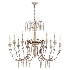 Buy the Quorum International Manchester Grey w/ Rust Accents Direct. Shop for the Quorum International Manchester Grey w/ Rust Accents La Maison 10 Light 1 Tier Chandelier and save. Metal Chandelier, Chandelier Ceiling Lights, Ceiling Light Fixtures, Pendant Lighting, Light Pendant, Manchester, Piano, Home Lighting, Argentina