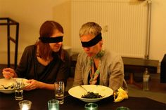 Touch the smell of taste and hear your sight   gnamo- multi sensory dinner