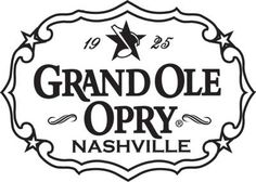 The Grand Ole Opry  Nashville, Tennessee.   Love it, love it, love it.