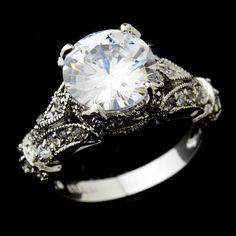 Vintage Inspired Engagement Ring $45