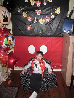 Decoración fiesta Mickey Mouse