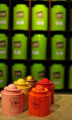 TWG tea packaging