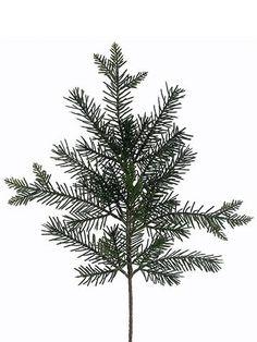 Artificial Pine Spray in Green