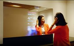 The VanityVision smart mirror provides superior picture quality compared to a standard two way mirror. Durable, waterproof, and easy to clean.