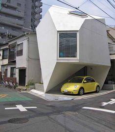 Casa Origami - A eficiência da arquitetura japonesa