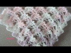 Kır Çiçekleri Şal Modeli Yapımı - YouTube
