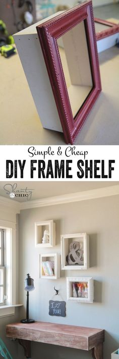 Check it out Low Budget Hight Impact DIY Home Decor Projects  Incorporate Trends into Thrift Store Frames.  www.coolhomedecor…  The post  Low Budget Hight Impact DIY Home Decor Projects  Incorporate ..