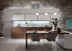 Kitchen as a multifunctional space in your home   Minimalist interior design, modern architecture, kitchen and furniture design blog - via http://bit.ly/epinner
