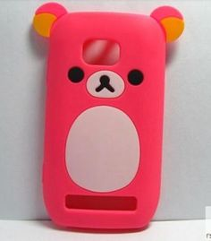Cute Lovely Relax Bear Soft Silicone Back Case Skin Cover for NOKIA Lumia 710 2,30€