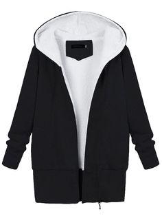 Winter Women Warm Hooded Cotton Jacket Fluffy Outdoor Coats