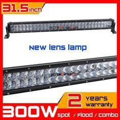 299.98$  Buy now - 31.5inch New Lens 300w LED Light Bar SUV Truck Tractor ATV 4X4 LED Offroad Fog Light bar External Light seckill 180w 240w  #aliexpressideas