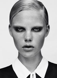 Julia Almendra – New Face @ Modelwerk. Source