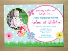 Hey, I found this really awesome Etsy listing at https://www.etsy.com/listing/104313561/butterfly-birthday-invitation-digital