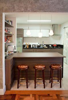 As tendências de decoração de cozinha americana e cozinha gourmet são uma verdadeira inspiração: Veja 57 fotos com modelos de cozinhas incríveis!