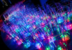 LED Drink Glasses can add some Vivid Color to any Party