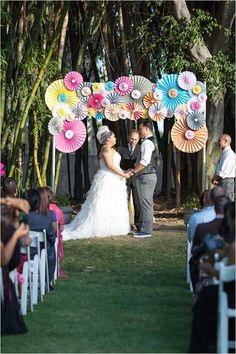 fun wedding ceremony ideas up wedding Wedding Ceremony Ideas, Ceremony Decorations, Wedding Trends, Ceremony Arch, Indoor Wedding, Diy Wedding, Dream Wedding, Altar, Whimsical Wedding