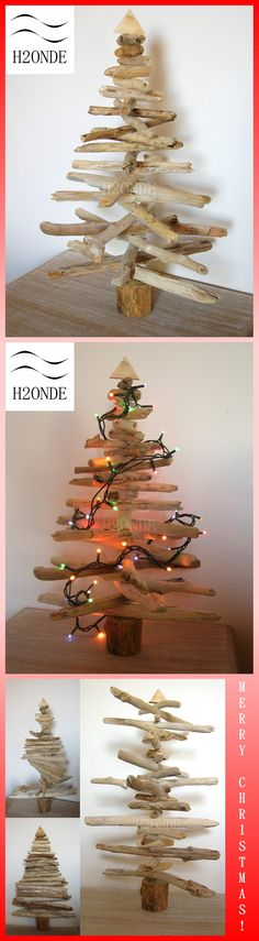wood Christmas Tree driftwood xmas  natural wood rustic best gift idea ornament  beach coastal decor  holiday tree ecological christmas  art sculpture recycled decoration albero natale legno  abete legno mare decorazioni natale  natale stile mare  arredo natale legno  albero legno rustico  ecologico  centrotavola mare natale nautico  miglior regalo natalizio  feste di natale  legni mare chiari h2onde made in italy handmade best items wedding centerpiece fireplace shelf mantel