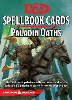 D&D SpellBook Cards - Paladin Oaths Cards (24 Cards)