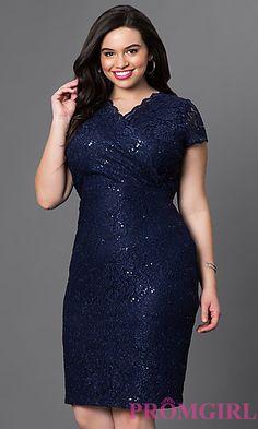 5d30595c5e3 Short Lace Knee Length Empire Waist Dress